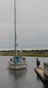 sailingin
